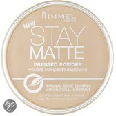 Rimmel Stay Matte Pressed Powder - 6 Warm Beige - Make-up Poeder