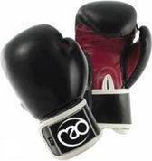 Fitness-mad Dames leer oefen kick- bokshandschoenen 226.8 gram zwart/roze