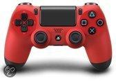 Foto van Sony PlayStation Draadloze Dualshock 4 Controller Rood PS4