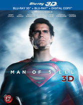 Man Of Steel (3D Blu-ray)