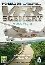 VFR Scenery Volume 2: South-West England And South Wales