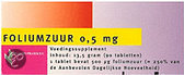 Healthypharm Foliumzuur 0.5mg - 90 Tabletten