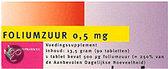 Healthypharm Foliumzuur 0.5mg  - 90 Capsules - Voedingssupplementen