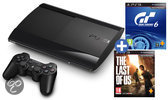 Sony PlayStation 3 500GB Super Slim + 1 Controller + Gran Turismo 6 + The Last Of Us