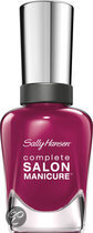 Sally Hansen Complete Salon Manicure - 639 Scarlet Fever - Nailpolish