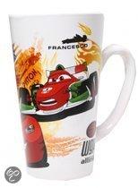 Disney Mok 16oz v-shape cars rood