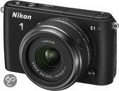 Nikon 1 S1 + 1 NIKKOR VR 11-27.5mm - Systeemcamera - Zwart