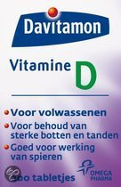 Davitamon Vitamine D Volwassenen - 200 Tabletten - Vitaminen