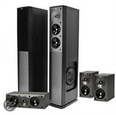 Jamo S 606 HCS 3 - Speakerset - Zwart