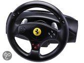 Foto van Thrustmaster Rumble Force Racestuur - Ferrari GT Experience Zwart  PS3 + PC
