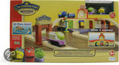 Chuggington Hout - Training Remise Speelset