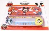 Disney Schoolset mickey mouse 5 delig
