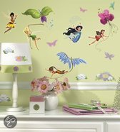 RoomMates - Muursticker Fairies - Glitter Roze