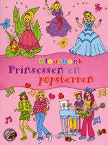 Kleurboek prinsessen en popsterren