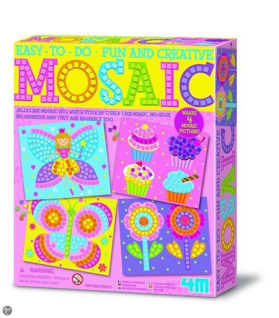 4M Crea Art Mozaïek-Kit - Meisje