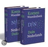 Koenen Woordenboek Nederlands-Duits