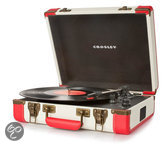 Crosley Home entertainment - Platenspelers CR6019A RED
