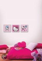 Graham & Brown Wand- of plafonddecoratie Hello Kitty Set Of 3 Box Art