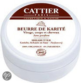 Cattier-Paris 100% biologisch Sheabutter - 100 ml - Bodybutter