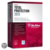 McAfee Total Protection 2013 - 3 Gebruikers / Nederlands / WIN