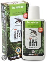 Travelsafe - Deet 30 % - 60 ml - Gel