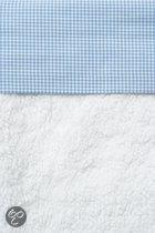 Cottonbaby Ruit - Wieglaken 75x90 cm - Lichtblauw