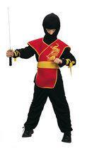 Luxe Ninja Meester - Kostuum - 4-6 jaar