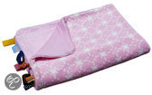Crib Blanket Diamond Pink (75CM x 100CM)
