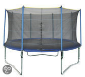 Game On Sport Mega Flash Trampoline met Net - 244 cm
