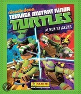 Panini stickers Teenage Mutant Ninja Turtles
