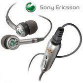 Stereo Headset voor Sony Ericsson W580i - kleur grijs, merk Vatie (hoofdtelefoon, oordopjes, oorstop)