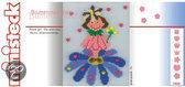 Ministeck Ornamenten - Bloemenmeisje