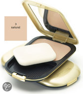 Max Factor Facefinity Compact - 3 Natural - Foundation