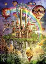 Regenboog eiland - Legpuzzel - 1000 Stukjes