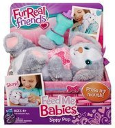 Hasbro Feed me babies fur real: sippy pup