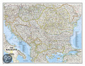 National Geographic Maps Balkans