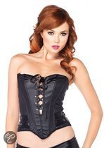 Leg Avenue 'Wetlook Bustier', Model 2622, Maat L