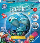 Ravensburger Dolfijnen Onderwater - 3D puzzel