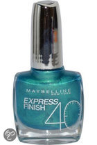 Maybelline Express Finish  - 865 Turquoise Green