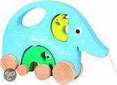 Trekfiguur Mama Elphy Blauwe Olifant
