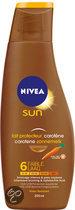 Nivea Sun Deep Tan - SPF 6 - 200 ml - Zonnemelk