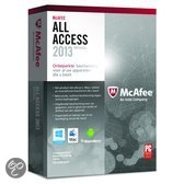 McAfee All Access 2013 - Individual / 1 gebruiker / Nederlands / WIN / MAC