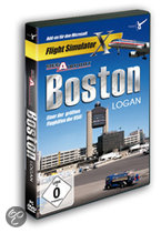 Mega Airport Boston Logan (FS X Add-On)  (DVD-Rom)