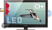 Salora 24LED6105CD - LED TV/DVD-combo - 24 inch - Full HD