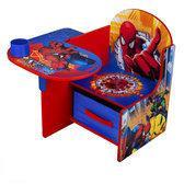 Spiderman Stoel met Schrijfblad