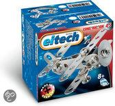 Eitech bouwdoos - Vliegtuig - Dubbeldekker