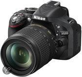 Nikon D5200 + 18-140mm VR - Spiegelreflexcamera- Zwart
