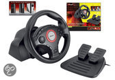 Trust GXT 27 Racestuur Vibratie Zwart PC + PS3 + PS2