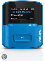Philips GoGear Raga - MP3 speler - 2 GB - Blauw