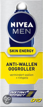 Nivea For Men Energy Q10 Anti-Wallen - 10 ml - Oogroller